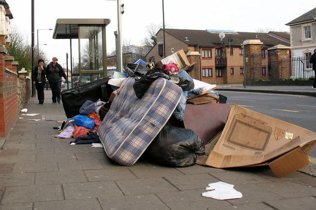 Fly Tipping Specialists Matching Tye