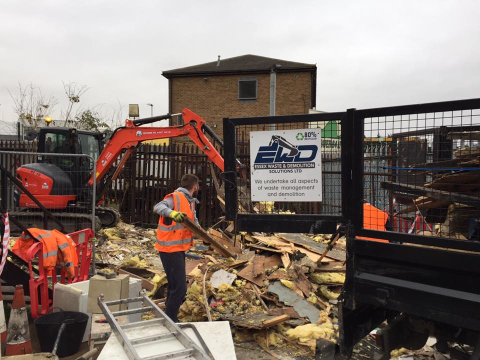 Demolition Specialists Shenfield